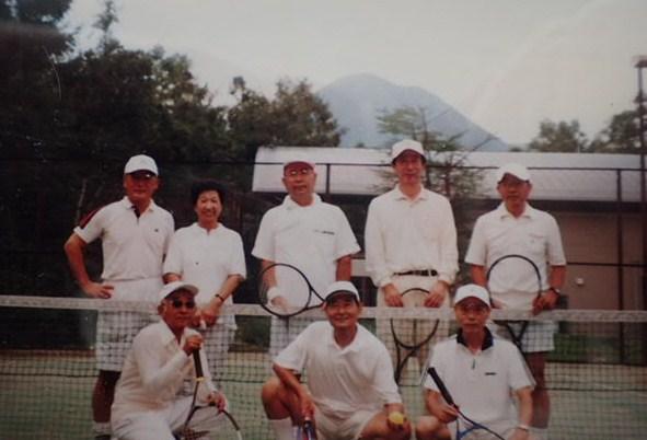 テクノメート会員テニス合宿で