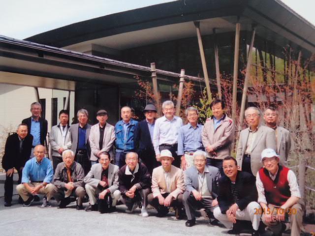 住友化学のアルミナ製品部門のOB会